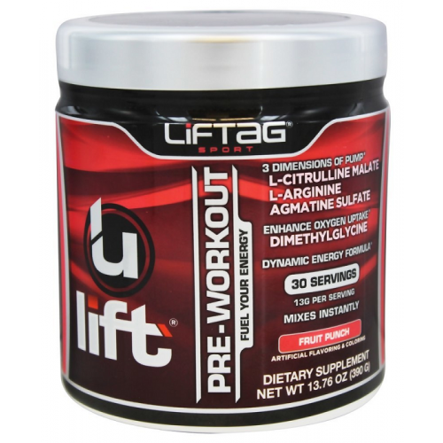Liftag Sport Ulift Pre-Workout 390g