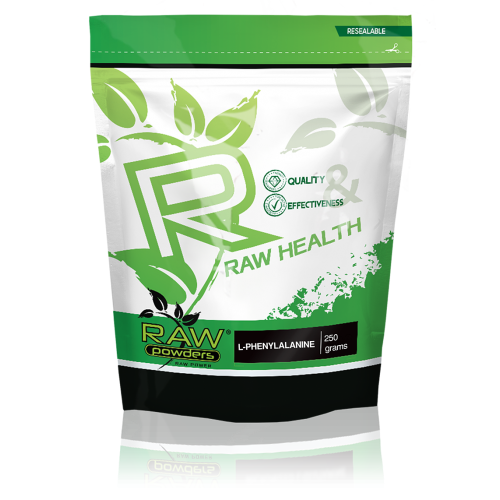 Raw Powders L-Phenylalanine (L-Fenilalaninas) 250g