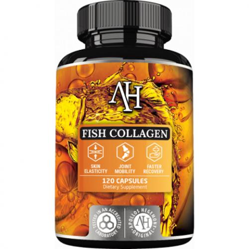 Apollo's Hegemony Naticol® Fish Collagen 120kaps
