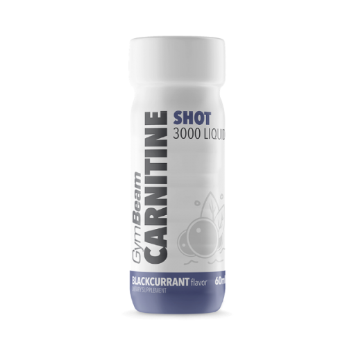 GymBeam L-Carnitine 3000mg Shot 60ml