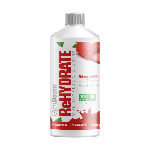 GymBeam ReHydrate Multihypotonic drink 1000ml