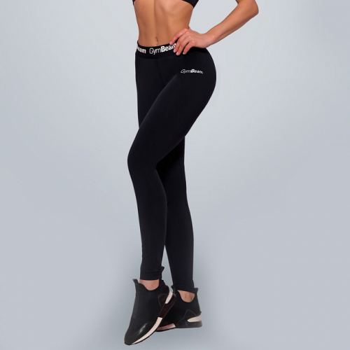 GymBeam Women's leggings Simple Black