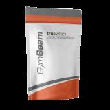 GymBeam True Whey (išrūgų baltymai) 2500 g ir 3x VERTINGOS dovanos