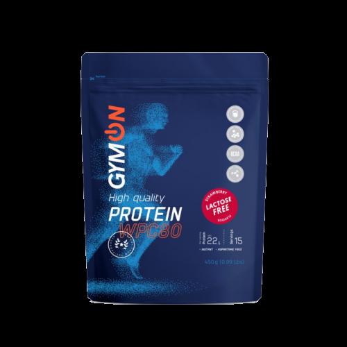GymOn proteinas be laktozės (WPC80) 450 g