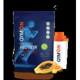 GymON proteinas (WPC80) 1 kg ir plaktuvė dovanų
