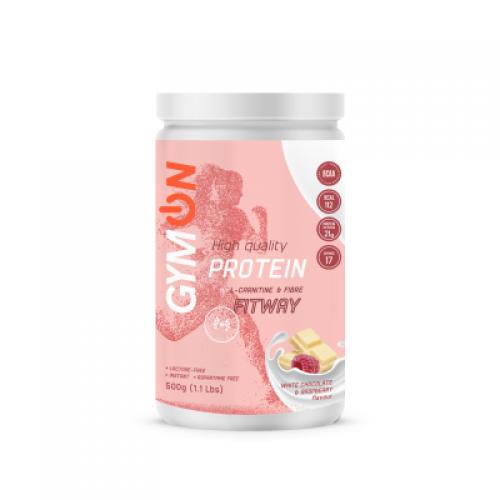 GymON FITWAY Protein (baltymų kokteilis be laktozės) 500 g