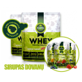 Healthy Choice 100% išrūgų baltymai 2000 g ir 1KG riešutų sviesto dovanų!