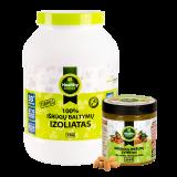 Healthy Choice 100% išrūgų baltymų izoliatas 1kg ir migdolų sviestas dovanų!
