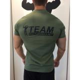 Team Kulturizmas.net marškinėliai Chaki