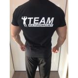 Team Kulturizmas.net marškinėliai juodi su juodu