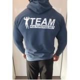 Team Kulturizmas.net džemperis su kapišonu pilkai melsvas