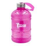 Team Kulturizmas.net rožinė vandens gertuvė 1 litro