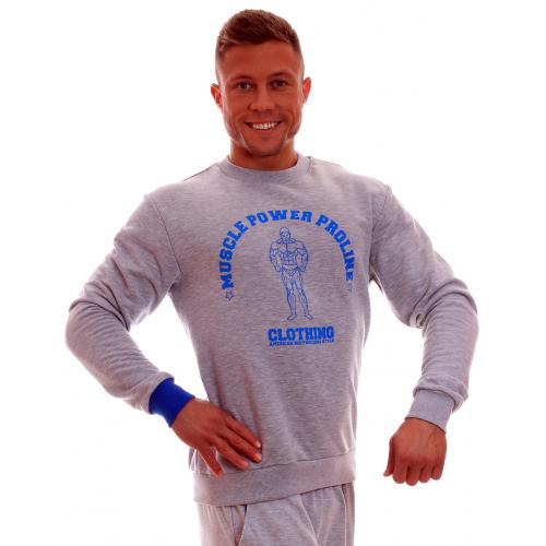 MPP džemperis Pilka/Mėlyna