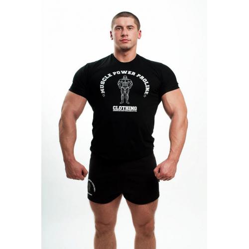 MPP Muscle marškinėliai juodi