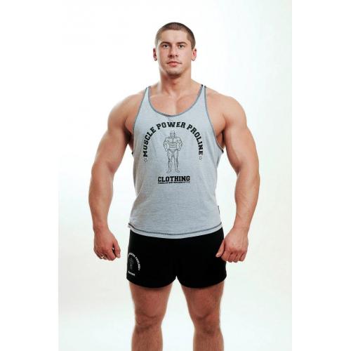 MPP marškinėliai Tank Top pilki
