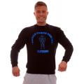 MPP džemperis Juoda su Mėlyna/Raudona