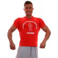 MPP Muscle marškinėliai raudoni