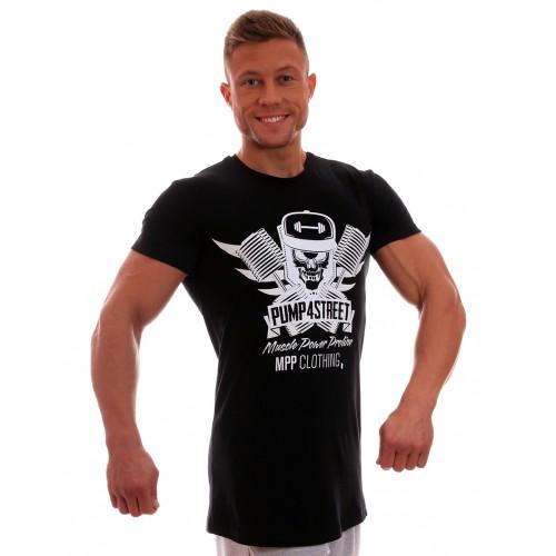 MPP marškinėliai Pump 4 Street Juodi