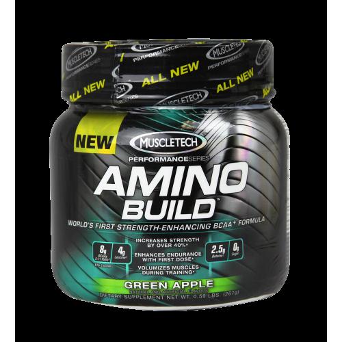 Muscletech Amino Build 270 g ir maikutė dovanų