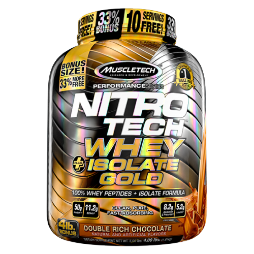 Muscletech Nitro-Tech Whey Isolate Gold 1800g