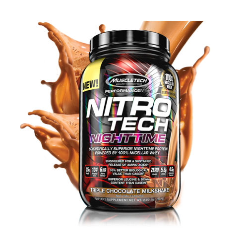 Muscletech Nitro-Tech NightTime 907g