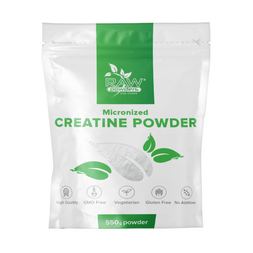 Raw Powders Mikronizuotas kreatinas 250/550g