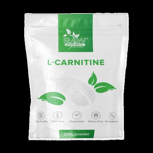 Raw Powders L-karnitinas milteliais