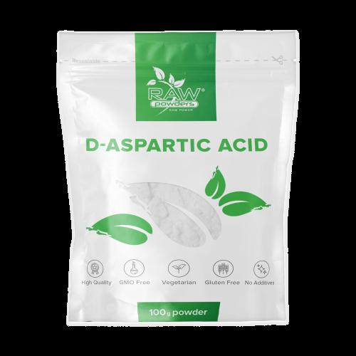 Raw Powders D-Aspartic Acid 100 g (DAA)