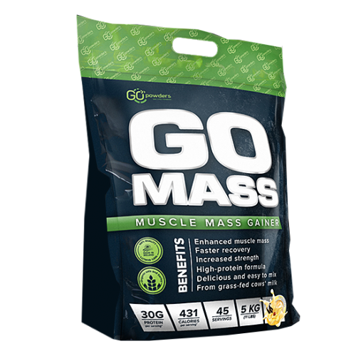 GO MASS Muscle Mass Gainer 5000 g