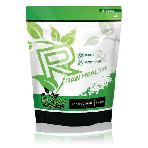 Raw Powders L-tryptophan (L-triptofanas) 100 g