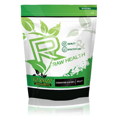 Raw Powders Coenzyme Q10 25 g (500 porcijų!)