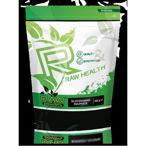 Raw Powders Glucosamine Sulphate 250 g (500 porcijų)