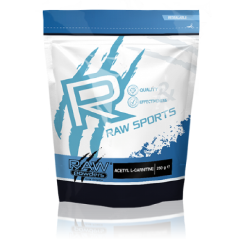 Raw Powders Acetyl L-carnitine 100 arba 250 g