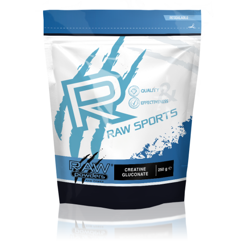 Raw Powders Creatine Gluconate 250 g