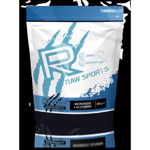 Raw Powders Mikronizuotas L-Glutaminas 250/550 g
