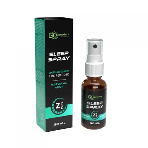Go Powders Sleep Spray 30ml (puškiamas melatoninas)