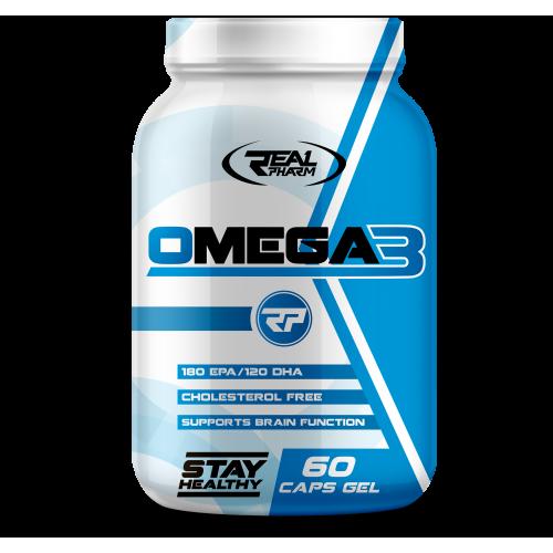 Real Pharm Omega 3 60 kaps.