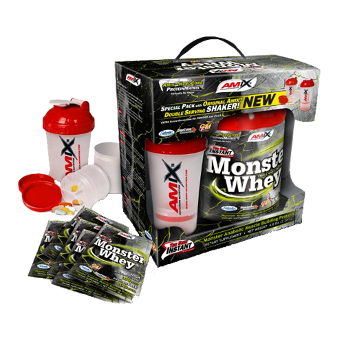 Amix Monster Whey 2000 g ir DOVANOS!!!