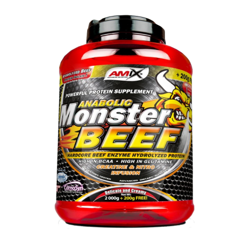 amix anabolic monster beef protein review