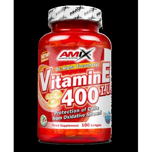 Amix Vitaminas E 400 IU (100 kaps.)