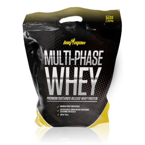Big Man Multi-Phase Whey 2250 g