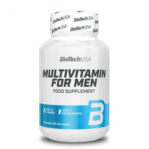 Biotech Multivitamin For Men vitaminai vyrams 60 tabl.