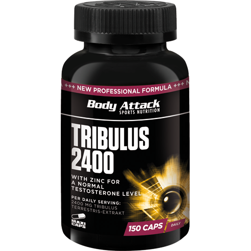 Body Attack Tribulus 2400 150 kaps.
