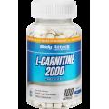 Body Attack L-Carnitine 2000 100 kaps.