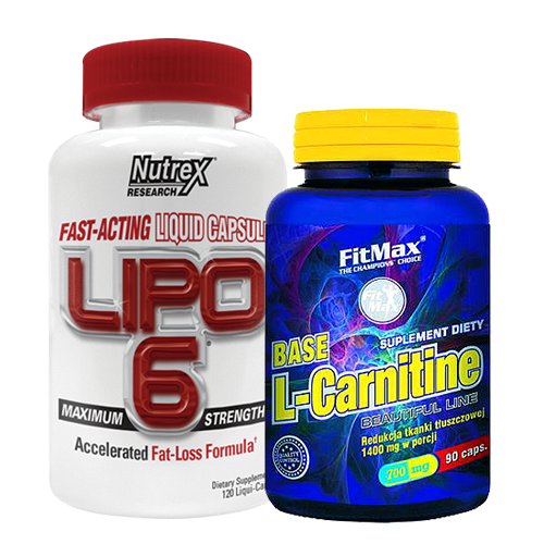 Fitmax Base L-Carnitine + Nutrex Lipo 6