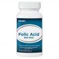 GNC Folic Acid 400 100 tabl. (folio rūgštis)