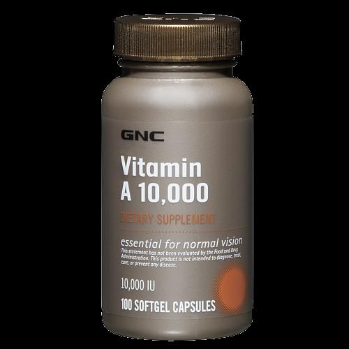GNC Vitamin A 10,000 100 kaps