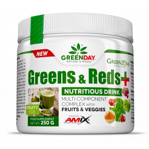 Amix GREENDAY® Greens & Reds 250g