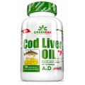 Amix GREENDAY® Cod Liver Oil (menkių kepenų aliejus) 90 kaps.