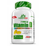Amix GREENDAY® Vitaminas D3 2500IU 90 kaps.